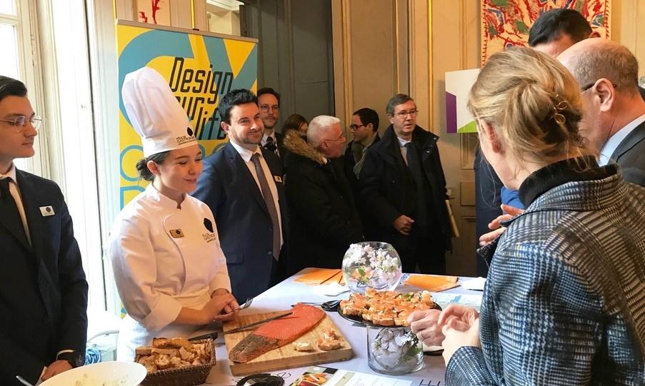 Campus Versailles : Pôle Gastronomie CY Cergy Paris Université
