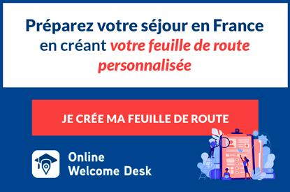 Online welcome desk - preparer