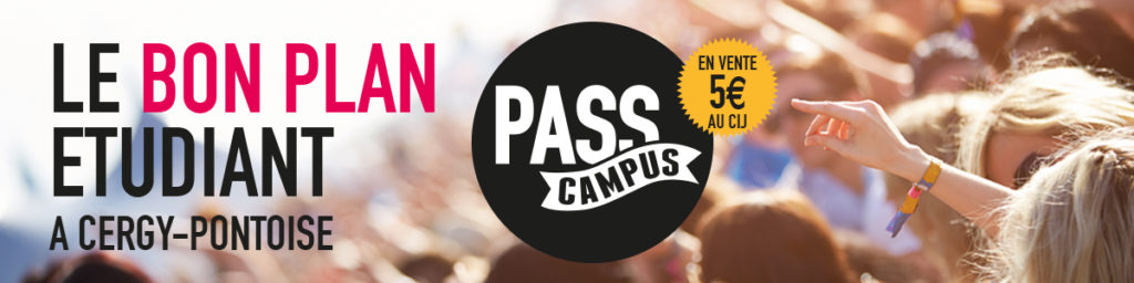 Pass Campus Cergy Pontoise
